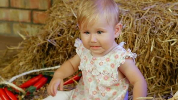 VideoHive Farm Girl 12212497