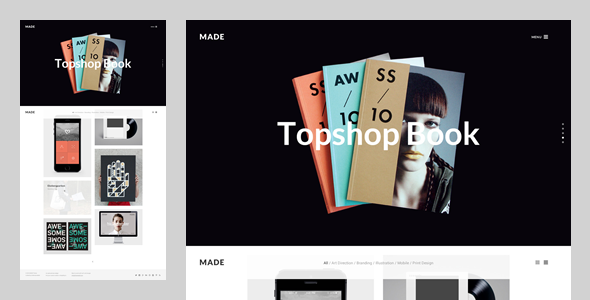 MADE: Freelance & Agency Portfolio Template