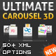 Ultimate 3D Carousel AS2 - ActiveDen Item for Sale