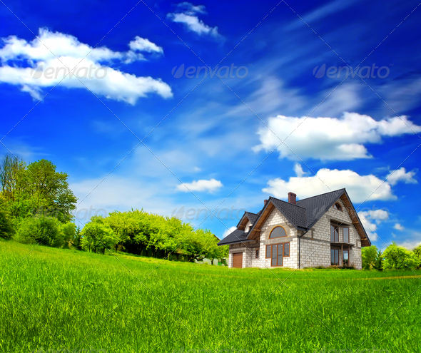 Eco land - Stock Photo - Images
