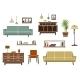 Flat Furniture And Interior Accessories