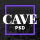 Cave | Creative PSD Theme