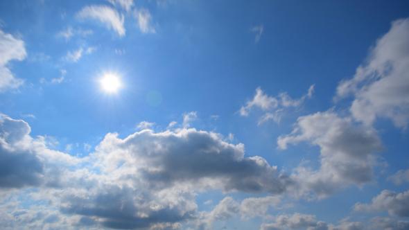 VideoHive Sun & Clouds 12217606