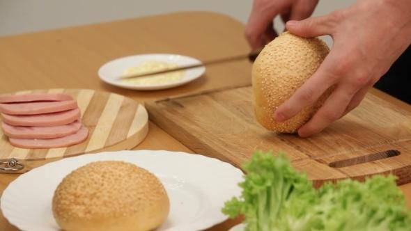 VideoHive Cook Sandwich 12217763