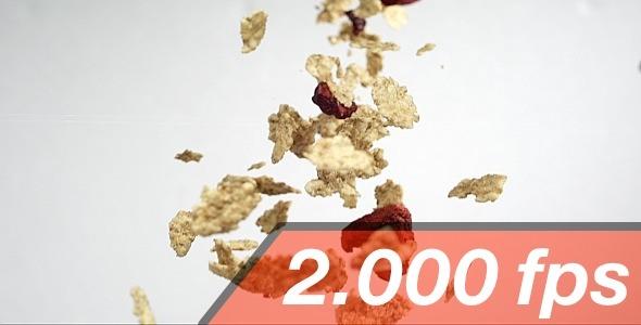 VideoHive Pouring Cornflakes 12217917