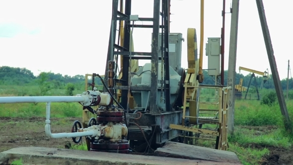 VideoHive Working Oil Pumps 12217933