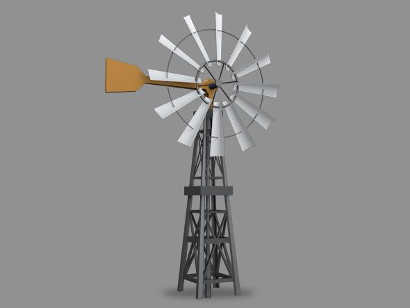 3DOcean Windmill 12219368