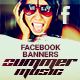 Summer Music - Facebook Banners