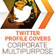 Twitter Profile Covers - Corporate Multipurpose