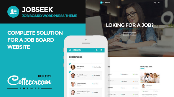 8 - Jobseek - Job Board WordPress Theme