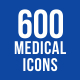 600 Medical Icons