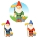 Collection Of Garden Gnomes