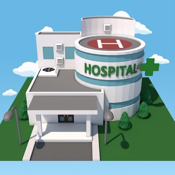 3DOcean Hospital 12210303