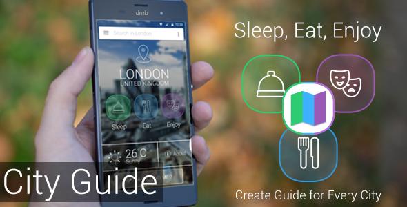 City Guide - Sleep, Eat, Enjoy - CodeCanyon Item for Sale