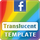 Translucent - Facebook Fan Page Template - ActiveDen Item for Sale