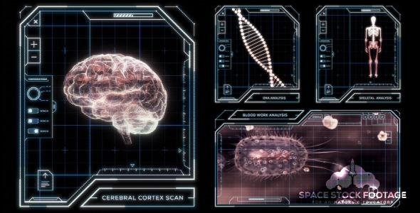 VideoHive Modular HUD Kit Part 1 Medical 12228587