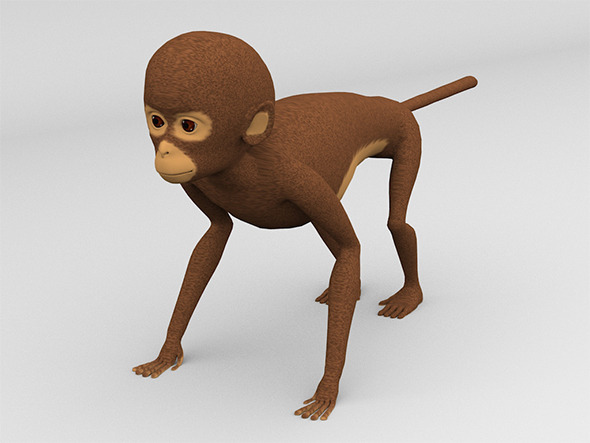 Monkey - 3DOcean Item for Sale