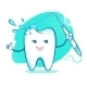 Happy Tooth with Irrigator