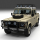 Land Rover Defender 110 Double Cab Pick Up w inter