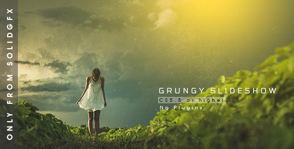 VideoHive Grungy Slideshow 12236722