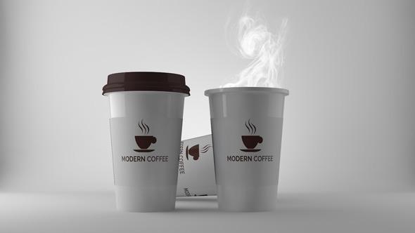 3DOcean Paper Coffee Cup 12237047
