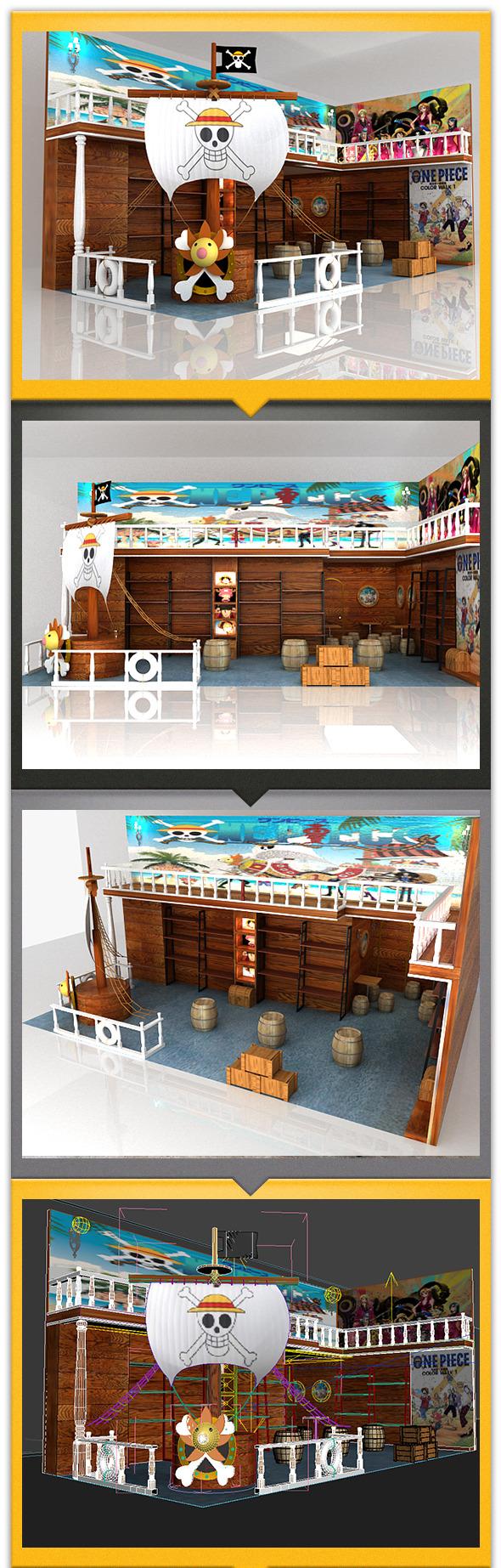3DOcean Store in cartoon style 12237199