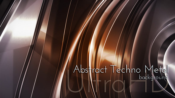 VideoHive Abstract Techno Metal 12239665