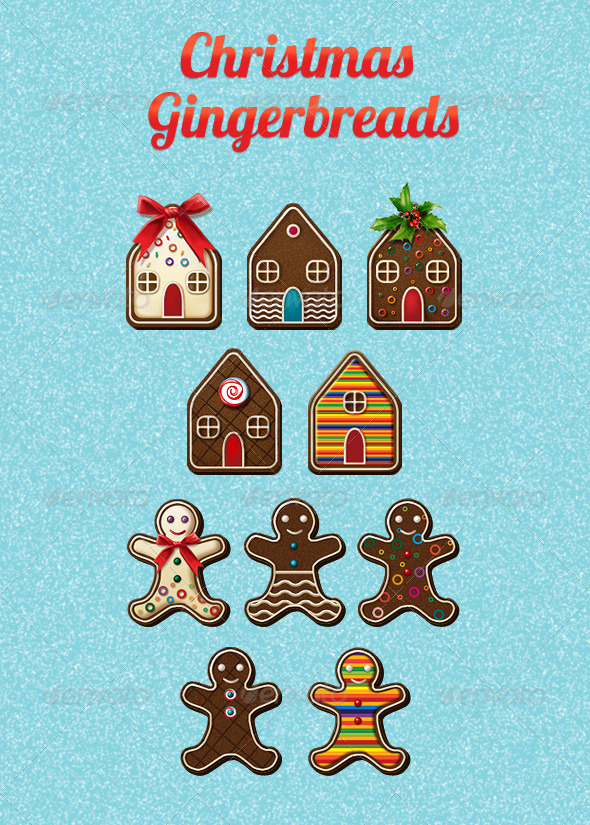 Christmas Gingerbreads - Seasonal Icons