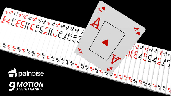 VideoHive Poker Cards SuperPack 9-Pack 12242612