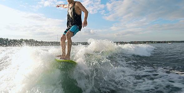 VideoHive Cool Wakesurfer 12242710