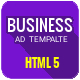 Business | HTML5 Google Banner Ad 07