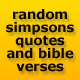 Random Homer Simpson Quotes & Bible Verses - ActiveDen Item for Sale