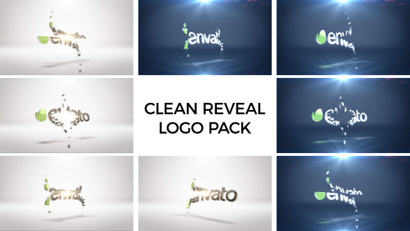 VideoHive Clean Logo Reveal Pack 12245437