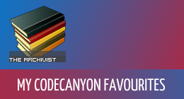 My CodeCanyon Favourites
