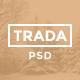 Trada - Creative Onepage PSD Template
