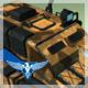 RTS style blue team tank v002