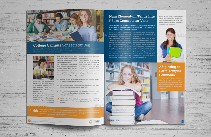 College University Prospectus Brochure v3 by JbnComilla – University Brochure Template