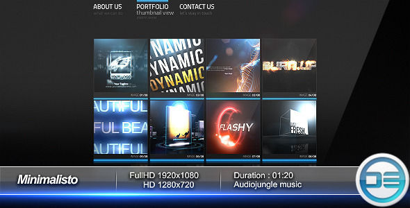 After Effects Project - VideoHive Minimalisto 1226011