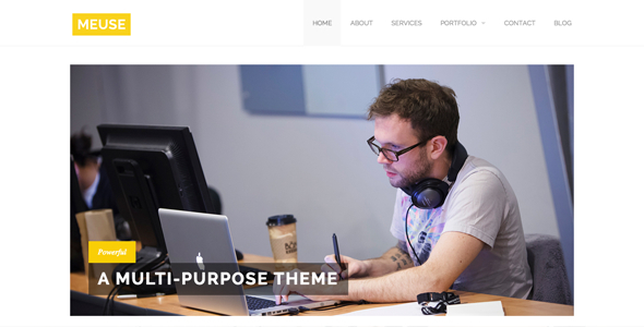 Meuse - Multi-Purpose HTML Theme