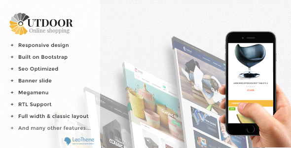 Image of Leo Out Door Responsive Prestashop Theme