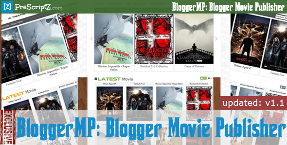 Blogger Movie Publisher - Watch Movie Blog Maker