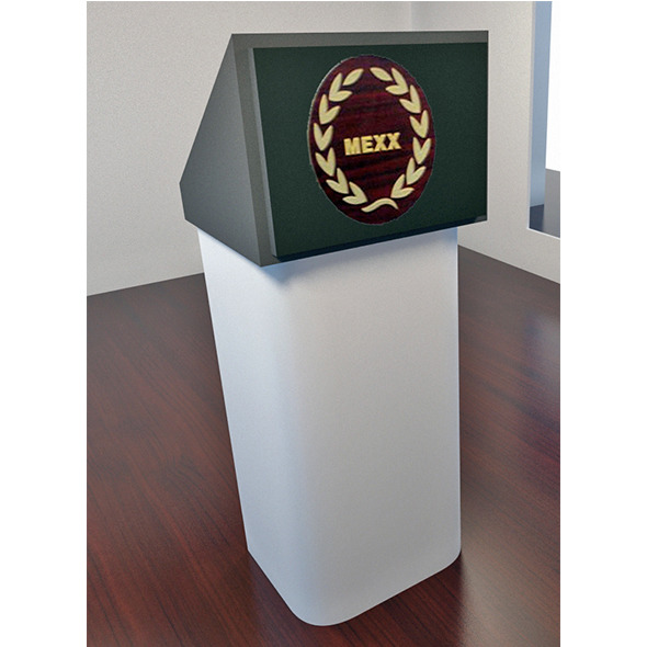 Speech Podium - 3DOcean Item for Sale