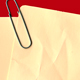 Card With Paper Clip - GraphicRiver Item for Sale