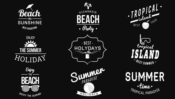 VideoHive Summer Vintage Labels 12251600