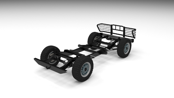 SUV Chassis - 3DOcean Item for Sale