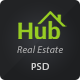 Property Hub - Real Estate PSD Theme