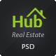 Property Hub - Real Estate PSD Theme