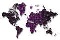 Crocodile world map symbol. - PhotoDune Item for Sale