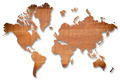 Wood texture world map. - PhotoDune Item for Sale