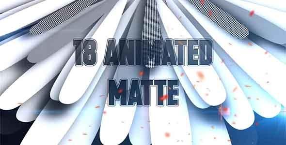 VideoHive 18 Animated Matte 12253981